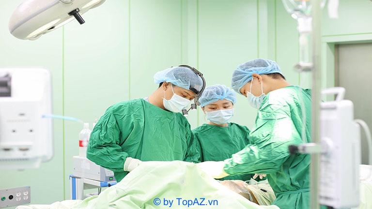 Quy trình tiến hành nâng ngực nội soi bằng đường nách