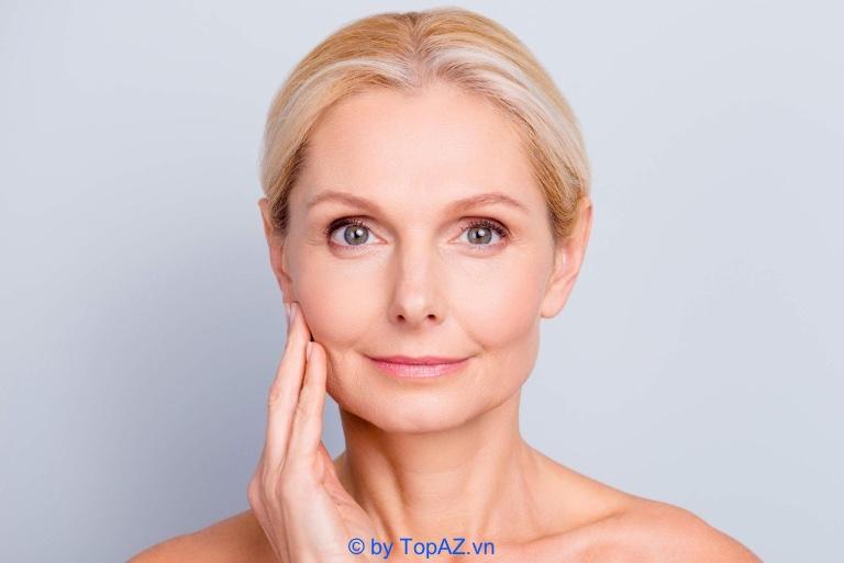 quá trình lão hóa của làn da