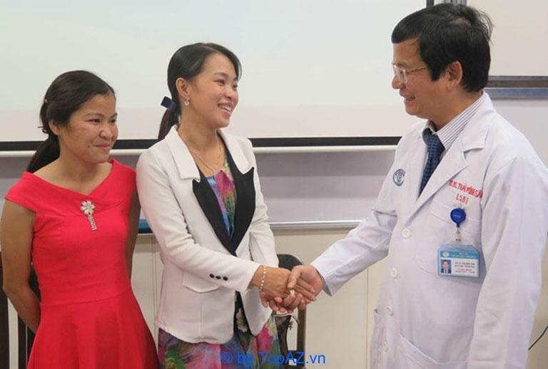 bác sĩ chuyên khoa tiết niệu giỏi ở TPHCM