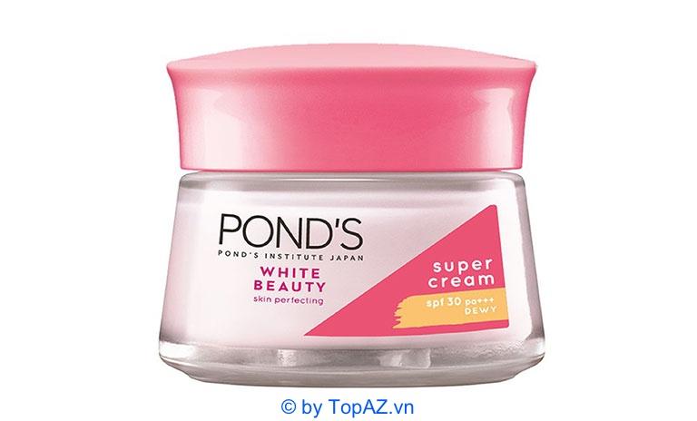 Kem dưỡng trắng da ban ngày Pond's White Beauty chứa vitamin B3 có tác dụng chính là làm sáng và dưỡng ẩm