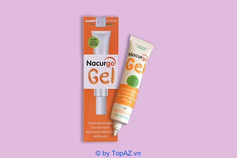 Nacurgo Gel là loại mỹ phẩm có chiết xuất từ các thành phần có nguồn gốc từ thiên nhiên