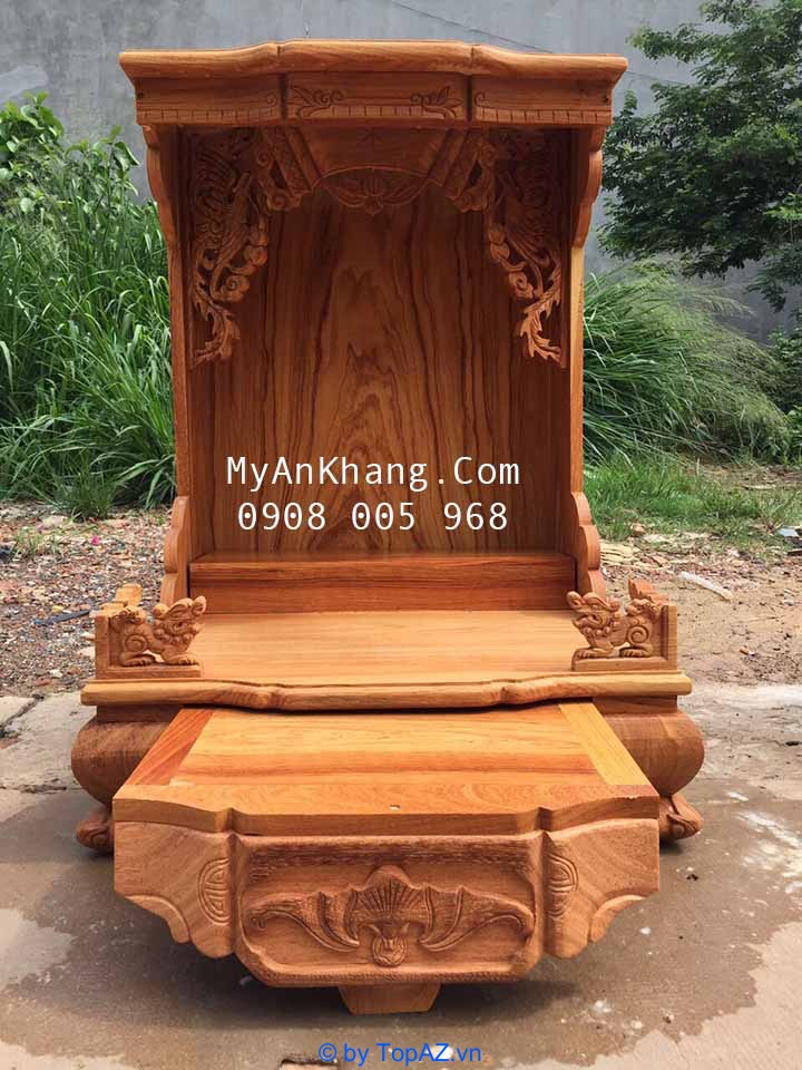 Bàn thờ ông địa hiện đại đẹp nhất tại TPHCM
