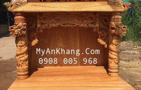 Bàn thờ ông địa mái chùa đẹp nhất tại TPHCM