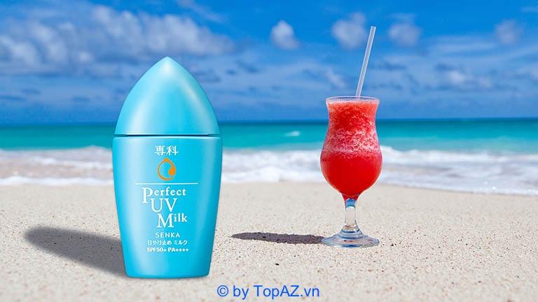 Kem chống nắng đi biển