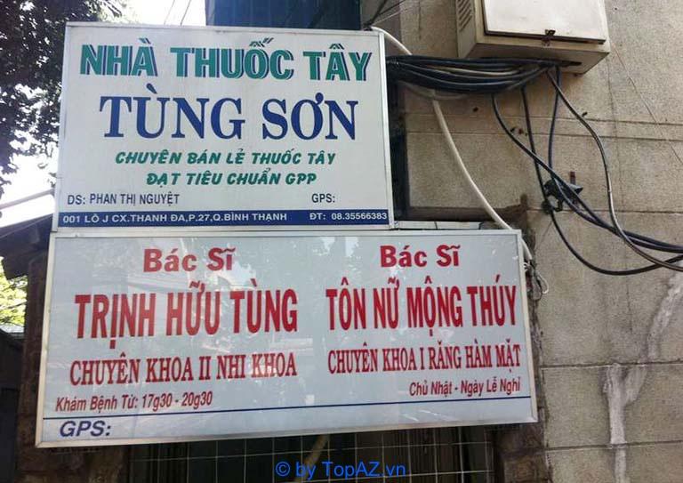 Phòng khám nhi tại quận Bình Thạnh