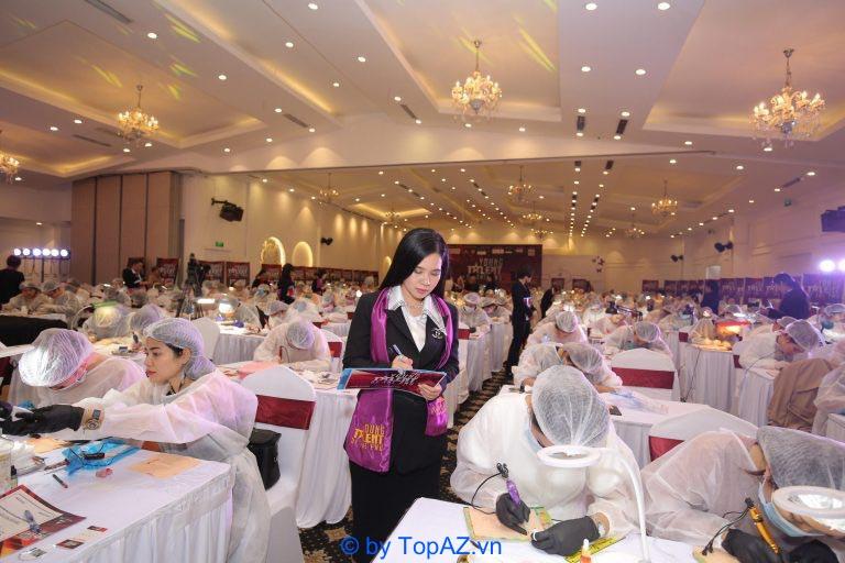 đào tạo phun xăm thẩm mỹ TPHCM