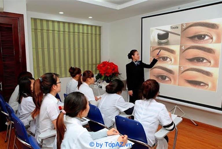 dạy nghề phun xăm thẩm mỹ Hà Nội