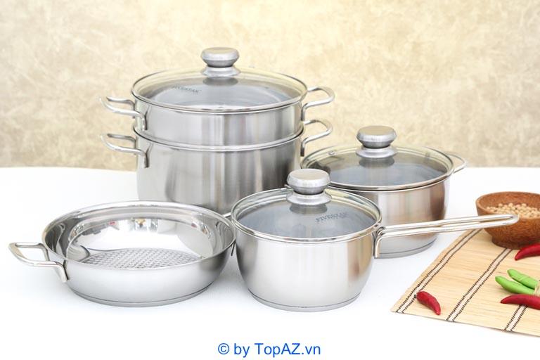bộ nồi nấu bếp từ