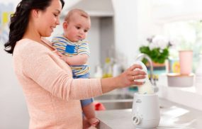 máy hâm sữa
