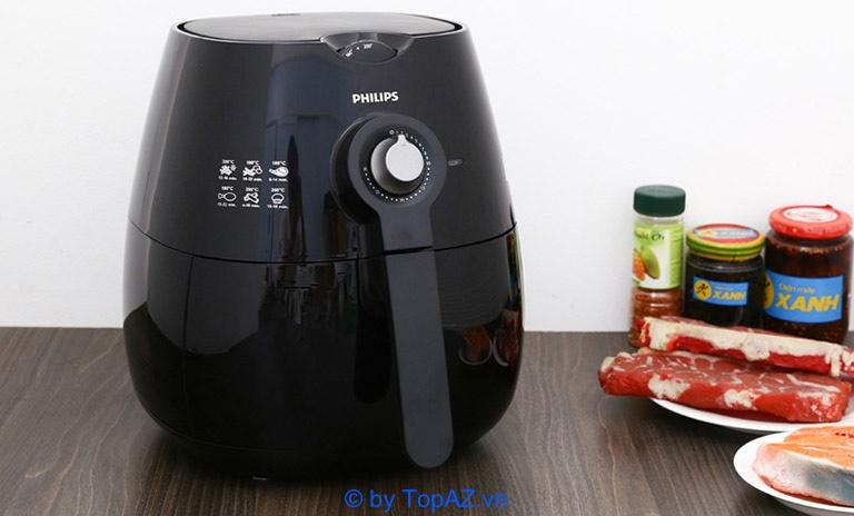 Philips HD9220/20 tương đối nhỏ gọn, vì thế nó sẽ phù hợp với các gia đình tầm trung khoảng từ 3 đến 4 người.