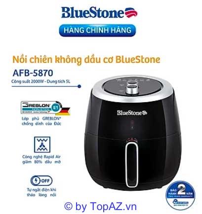 BlueStone AFB-5870 được người tiêu dùng bình chọn và đánh giá cao bởi hiệu năng sử dụng đảm bảo mang lại sự tiện dụng tối ưu.